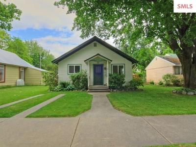 Sandpoint Single Family Home For Sale: 307 Euclid Ave.