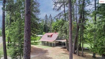 Sagle Single Family Home For Sale: 1245 Bottle Bay Road