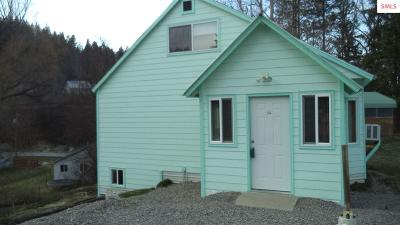 Bonners Ferry Single Family Home For Sale: 6928 Cemetery Rd