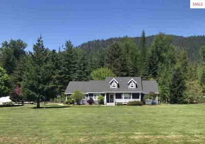Sandpoint Single Family Home For Sale: 72 Leisure Lane