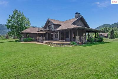 Sandpoint Single Family Home Contingent W/Bump Clause: 28 Alpenrose Lane