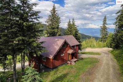Sandpoint Single Family Home For Sale: 385 Snowplow Road