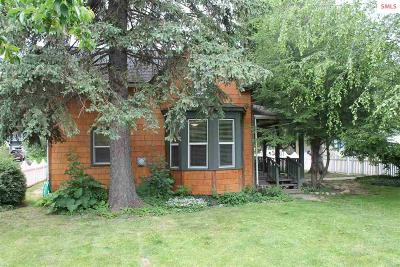 Sandpoint Single Family Home For Sale: 821 Fir St