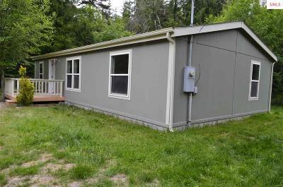 Sagle ID Single Family Home For Sale: $159,700