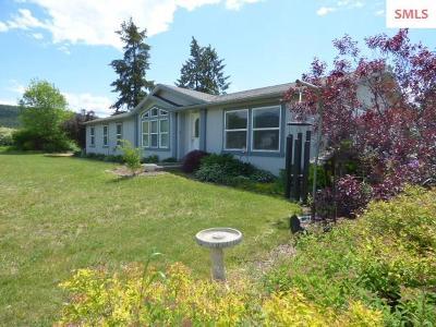 Bonners Ferry Single Family Home For Sale: 36 Heideman Rd