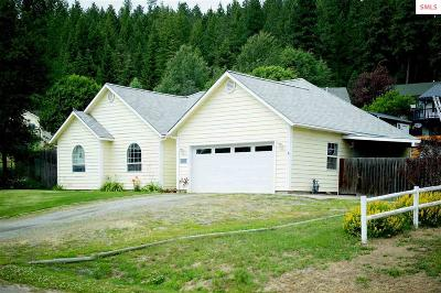 Bonners Ferry Single Family Home For Sale: 6845 Wild Rose Lane