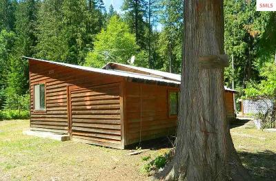 Bonner County, Kootenai County, Pend Oreille County Single Family Home For Sale: 266 Talache Loop Rd