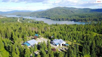 Sandpoint Single Family Home For Sale: 275 Eagle View N.