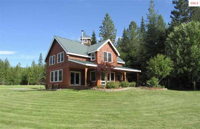 Sagle Single Family Home For Sale: 72 Idyllwild Road