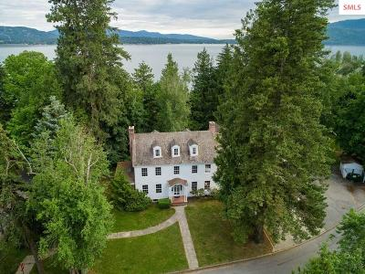 Sandpoint Single Family Home For Sale: 501 Lakeview Blvd