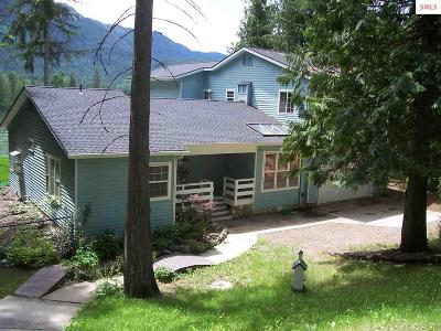 Clark Fork ID Single Family Home For Sale: $560,000