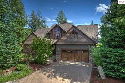 Sandpoint ID Single Family Home For Sale: $749,999