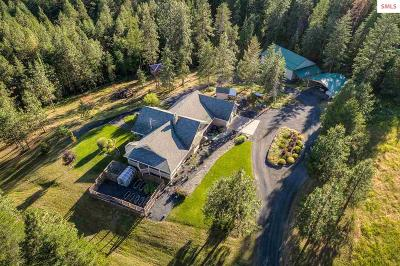 Coeur D'alene Single Family Home For Sale: 10988 W Thompson Rd
