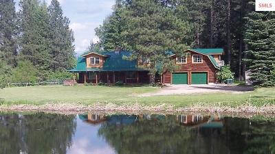 Sandpoint Single Family Home For Sale: 10830 W Pine