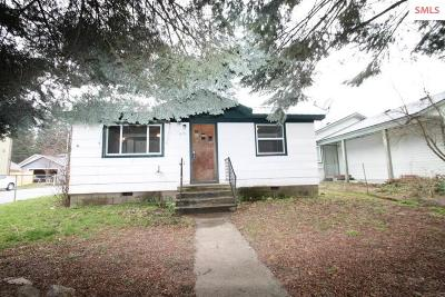 Coeur D'alene Single Family Home For Sale: 419 S 19th St
