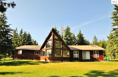 Bonners Ferry Single Family Home For Sale: 163 Old Relic Rd.