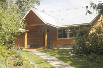 Cocolalla Single Family Home For Sale: 2181 Butler Creek Rd