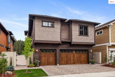 Coeur D'alene Single Family Home For Sale: 3840 W Shoreview Lane
