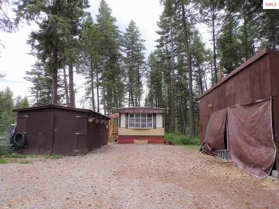 Priest River Single Family Home For Sale: 629 Bandy Road