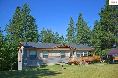 Bonners Ferry ID Single Family Home For Sale: $279,000