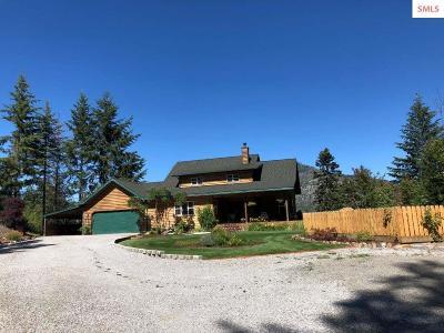 Sandpoint Single Family Home For Sale: 581 Sunnyside Hill Road