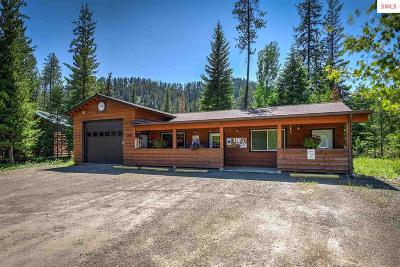 Priest Lake ID Single Family Home For Sale: $250,000