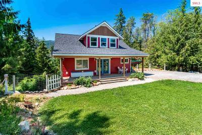 Sagle Single Family Home For Sale: 118 Pristine View Dr