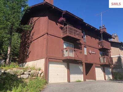 Sandpoint Condo/Townhouse For Sale: 14 Flurry Ct Unit 202