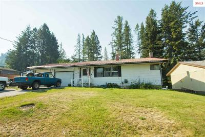 Bonners Ferry Single Family Home For Sale: 6534 Sherman Ay