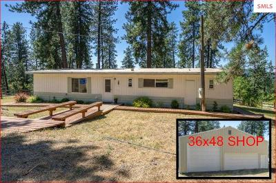 Coeur D'alene Single Family Home For Sale: 1863 S Goldrush Rd.