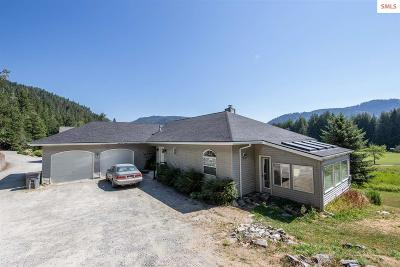 Sandpoint Single Family Home For Sale: 237 Lower Pack River Road
