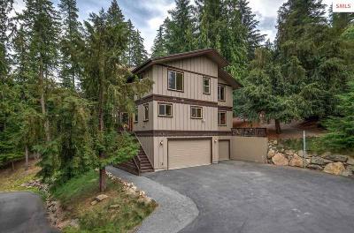 Hayden Single Family Home For Sale: 4546 E Upper Hayden Lake Rd.