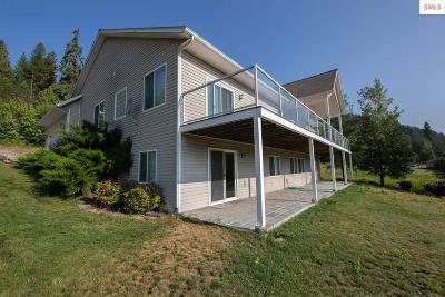 Bonner County Single Family Home For Sale: 239 Lower Pack River