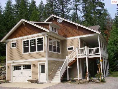 Sagle Single Family Home For Sale: 6190 Bottle Bay Rd.