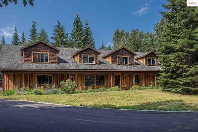 Sandpoint Single Family Home For Sale: 1778 Selle Road