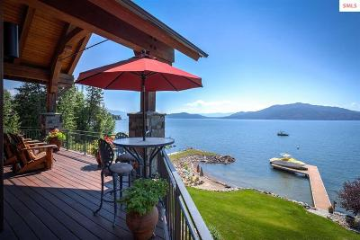 Sandpoint Single Family Home Contingent W/Bump Clause: 111 Ponder Point Lane
