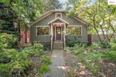 Sandpoint Single Family Home For Sale: 323 Pine Street