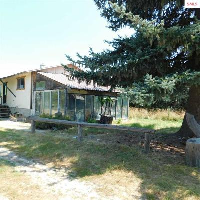 Priest River Single Family Home For Sale: 155 Lower Quartz Creek Rd