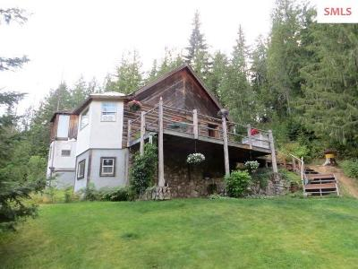 Sandpoint Single Family Home For Sale: 756 Elk Grove