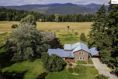 Sandpoint Single Family Home For Sale: 1756 S Center Valley Road