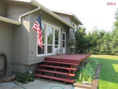 Moyie Springs Single Family Home For Sale: 62 Elk