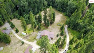 Sandpoint Single Family Home For Sale: 219 Caribou Creek Road