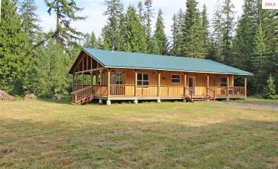 Clark Fork ID Single Family Home For Sale: $295,000
