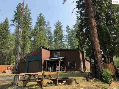 Priest River Single Family Home For Sale: 298 Woods Road