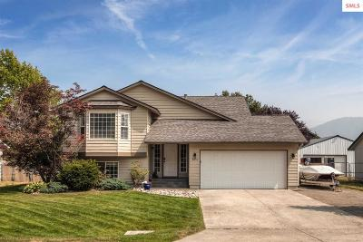 Bonner County, Boundary County, Kootenai County Single Family Home For Sale: 8856 N Davis Cir