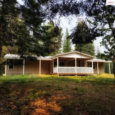 Sandpoint Single Family Home For Sale: 487344 Hwy 95
