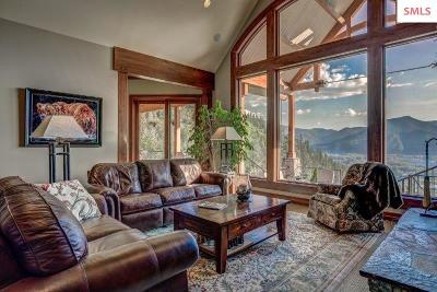 Clark Fork Single Family Home For Sale: 2904 Majestic Mountain Rd