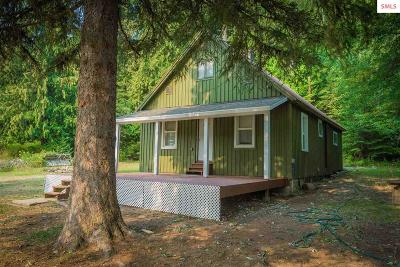 Sandpoint Single Family Home For Sale: 20411 Highway 2