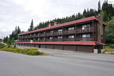 Sandpoint Condo/Townhouse For Sale: 8754 Schweitzer Mtn Rd #16