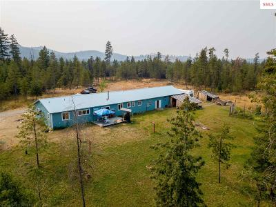 Priest River Single Family Home For Sale: 209 Hoop Loop